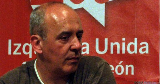 Enrique García, concejal de IU. / SN