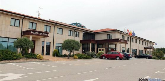 El establecimiento pertenece al hotel Villa de Almazán.