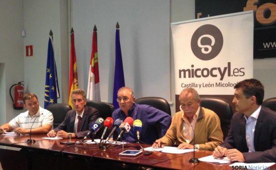Representantes de la UGAM Montes de Soria