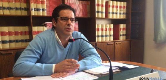 Javier Martín, concejal del Ayuntamiento de Soria