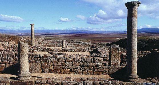 El yacimiento arqueológico de Numancia.