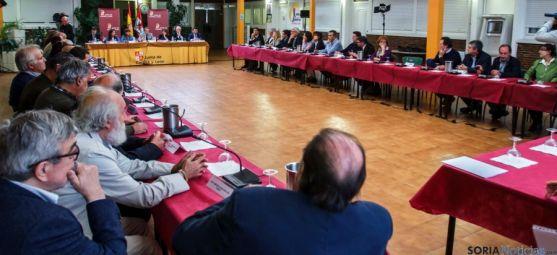 La reunión este miércoles en Palencia. / Jta.
