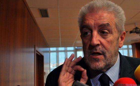El director general de Salud Pública, Agustín Álvarez, este martes en Soria./SN