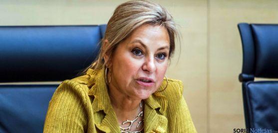 La consejera de Empleo, Rosa Valdeón. / Jta.