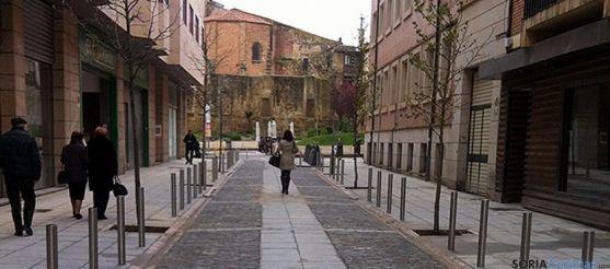Calle Medinaceli en Soria
