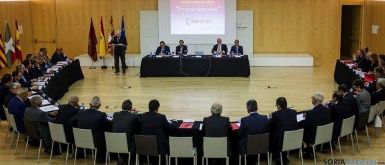 Reunión de Las Cámaras en Burgos