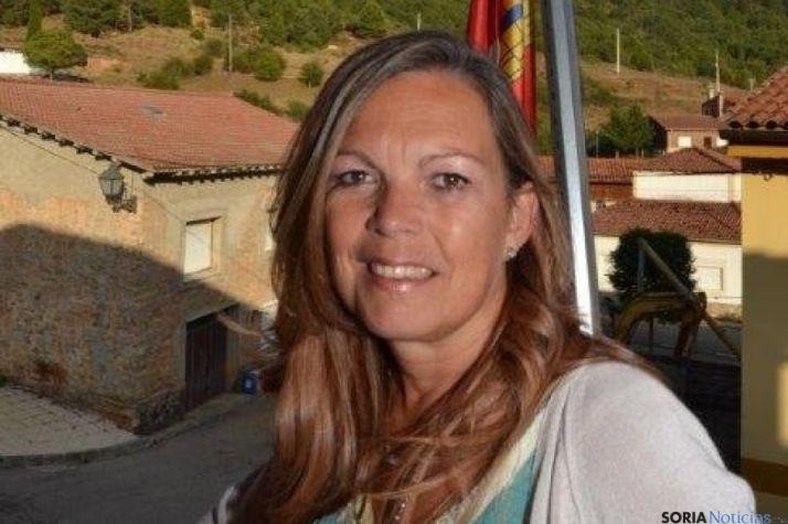 Ana Bárcena, alcaldesa de Muriel Viejo