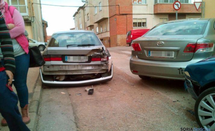 Resultado del accidente. / SN