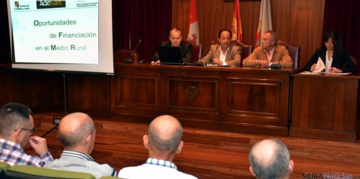 Imagen de la jornada informativa en la villa adnamantina. / Jta.