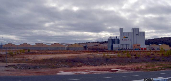 Las instalaciones de COPISO en Valcorba. / SN