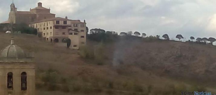 Conato de incendio en El Mirón