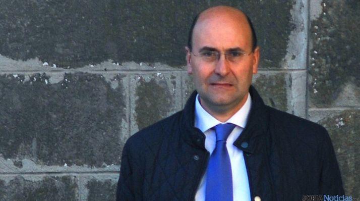 Jesús Manuel Alonso, diputado provincial y alcalde de Ágreda. / SN