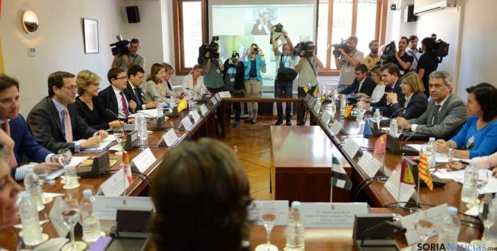 Imagen de la última conferencia sectorial en el MAGRAMA.