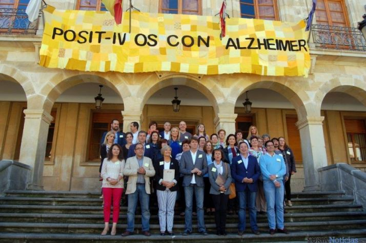 Imagen contra el Alzheimer en el Día Mundial