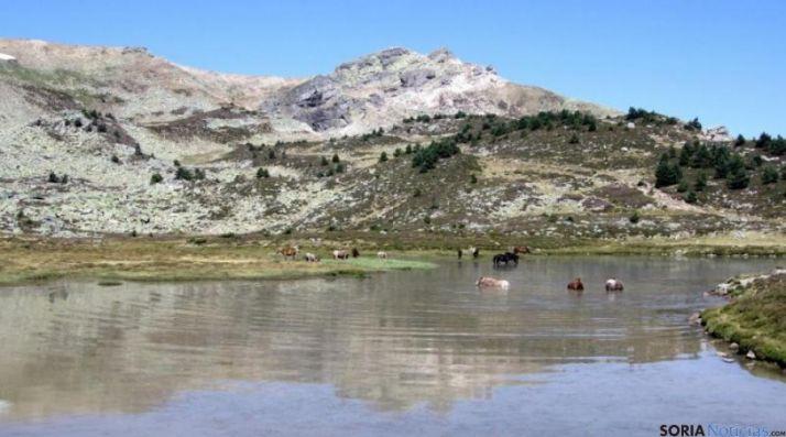 La Laguna Larga de Urbión