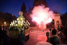Foto 2 -  Emotiva traca en honor de San Saturio