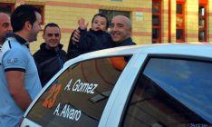 Álvaro, (dcha.), este sábado en Los Pajaritos./SN