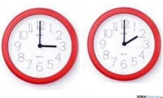 Esta madrugada se retrasa la hora.