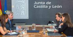 Reunión de los consejeros de Presidencia de ambas comunidades. / Jta.