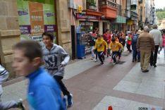Gigantes y Cabezudos por el centro de Soria