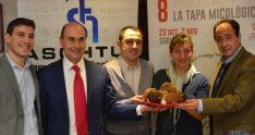 Presentación VIII Semana de la Tapa Micológica en Soria