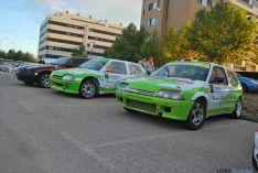Los coches que participan este domingo. / SN