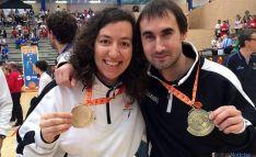 Cristina Hoyuelos e Iván Delgado.