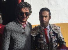 Rubén Sanz con Juan Antonio Romero