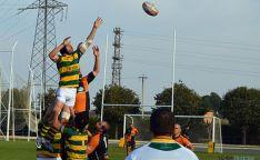 Un encuentro de rugby del club soriano.