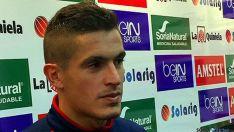 El centrocampista numantino Marc Pedraza./CDN
