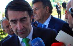 Suárez-Quiñones, en su última visita a Soria en septiembre. / SN