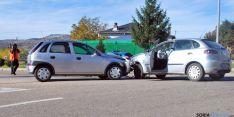 El lugar del accidente con los vehículos involucrados./SN