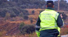 Un agente de Tráfico en una carretera soriana. / SN