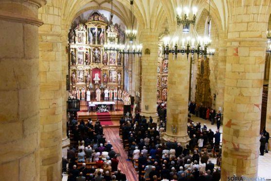Aspecto de la Concatedral de Soria