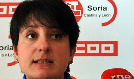 Ana Romero, de CC OO. / SN