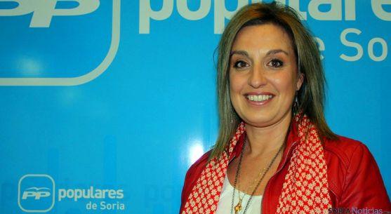 La concejal sampedrana del PP, Ana Belén Marín.