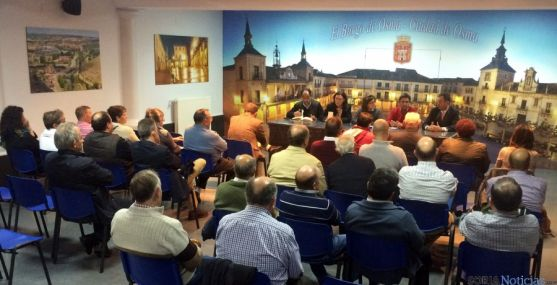 Reunión de alcaldes del PP en El Burgo de Osma.