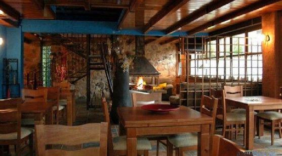 Imagen del interior de La Casona, en Navaleno.