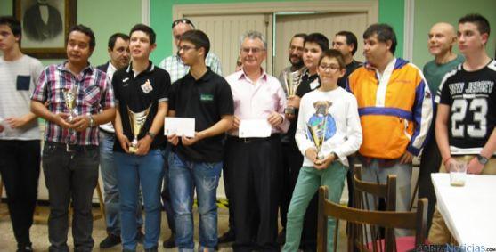 Foto de los premiados