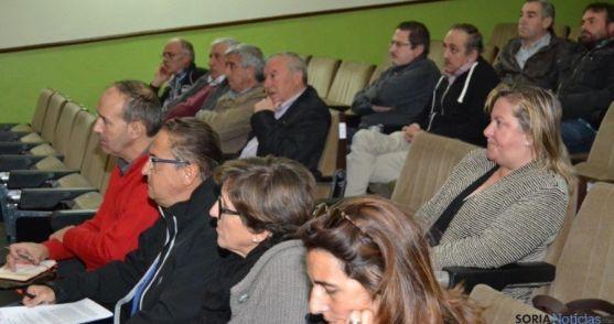 Alcaldes reunidos en Navaleno