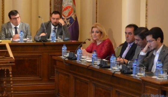 El grupo popular en la Diputación de Soria