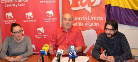 Representantes de IU en Soria