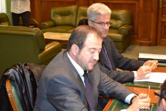 Reunión presidentes Diputaciones Soria yTeruel