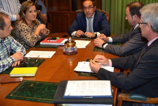 Reunión presidentes Diputaciones Soria y Teruel