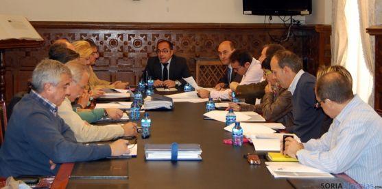 La comisión celebrada este jueves en la Diputación. / Dip.