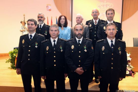 Agentes homenajeados