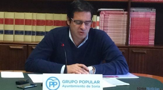 El concejal popular Javier Martín