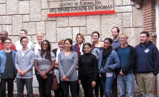Colaboradores internacionales de la Consejería en el primer trimestre.