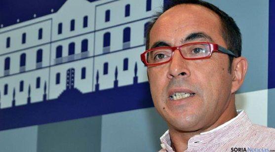 El presidente de la Diputación de Soria, Luis Rey. / SN