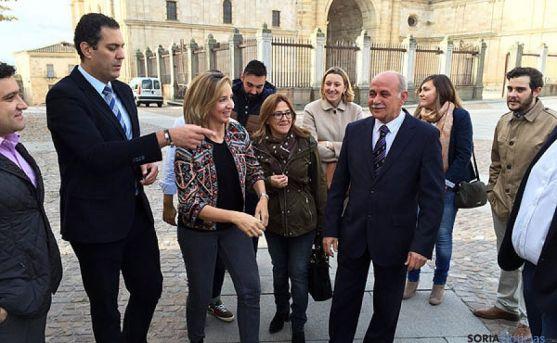 La consejera, Alicia García este sábado en Zamora. / SN